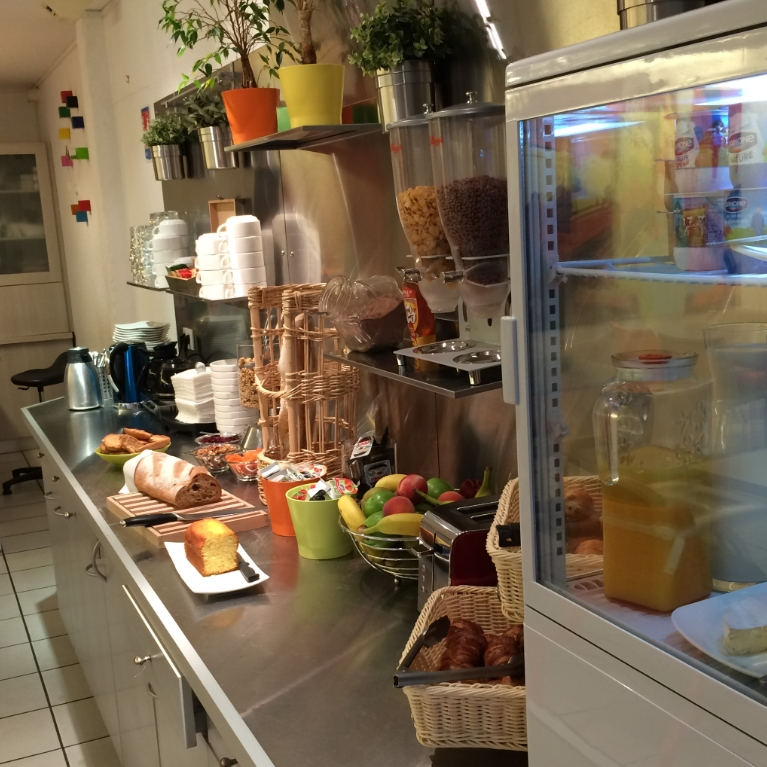 Full breakfast buffet at Caen Mondeville